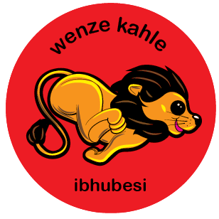 Big 5 Lion Virtual Sticker Zulu