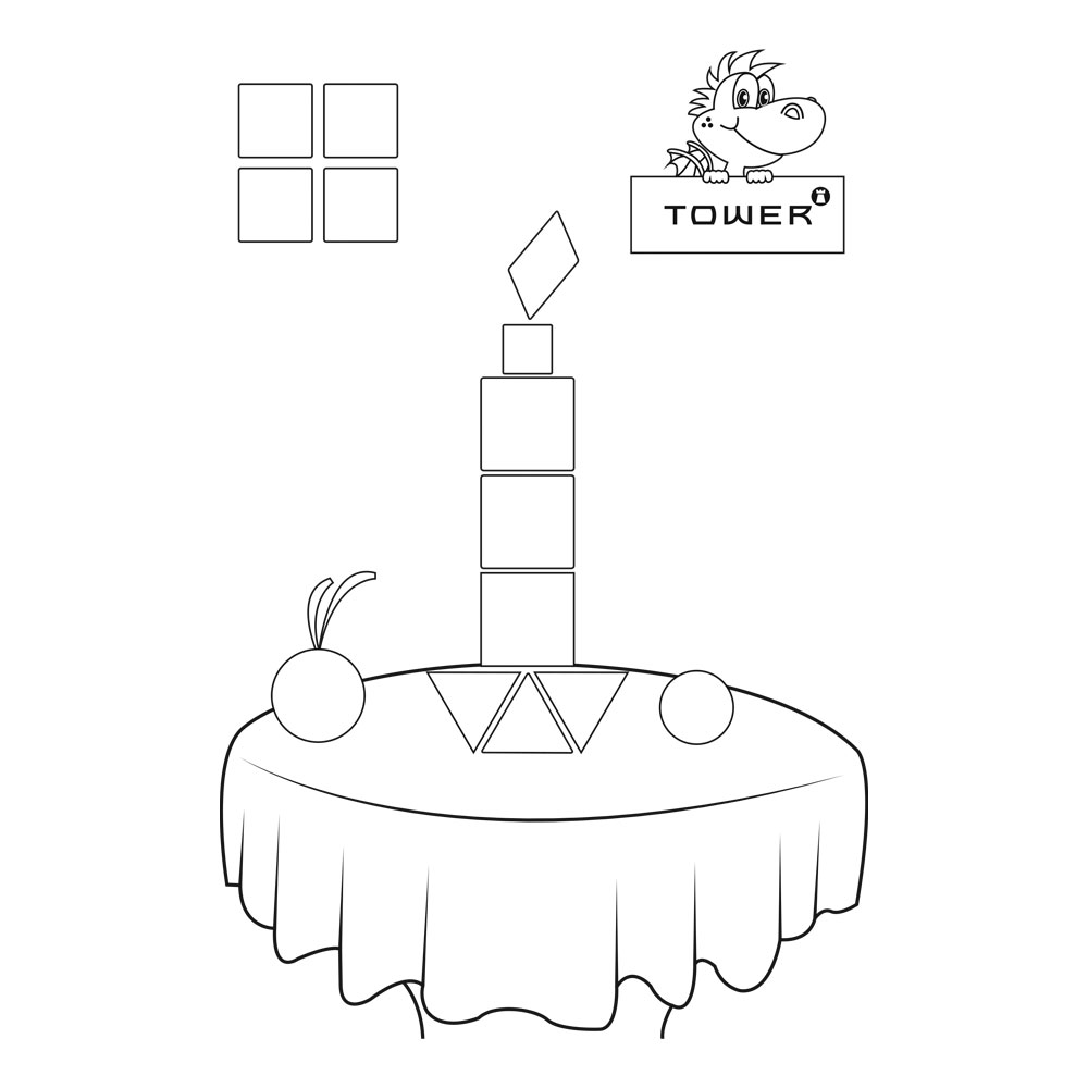 TOWER Printables Candle