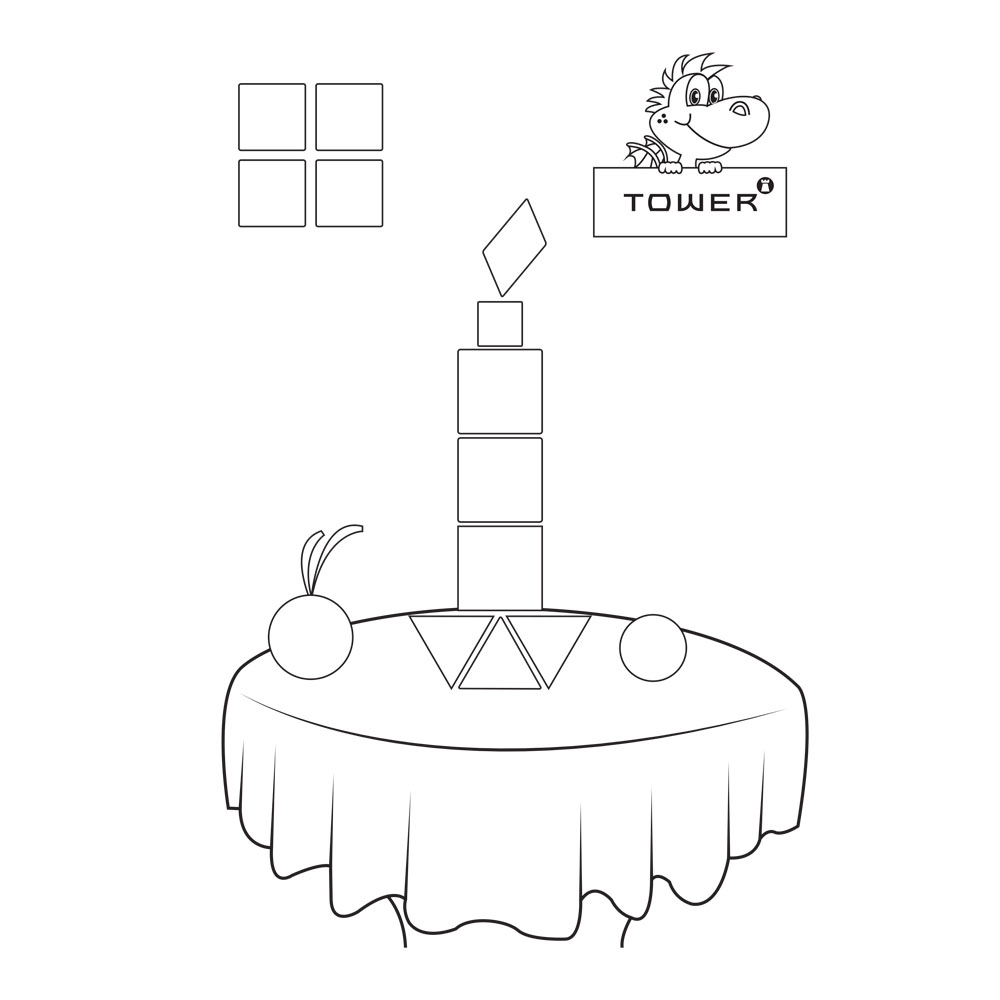 TOWER Printables Shape Activities
